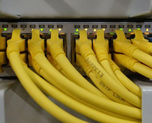 Netzwerkverkabelung im Unternehmen Berlin